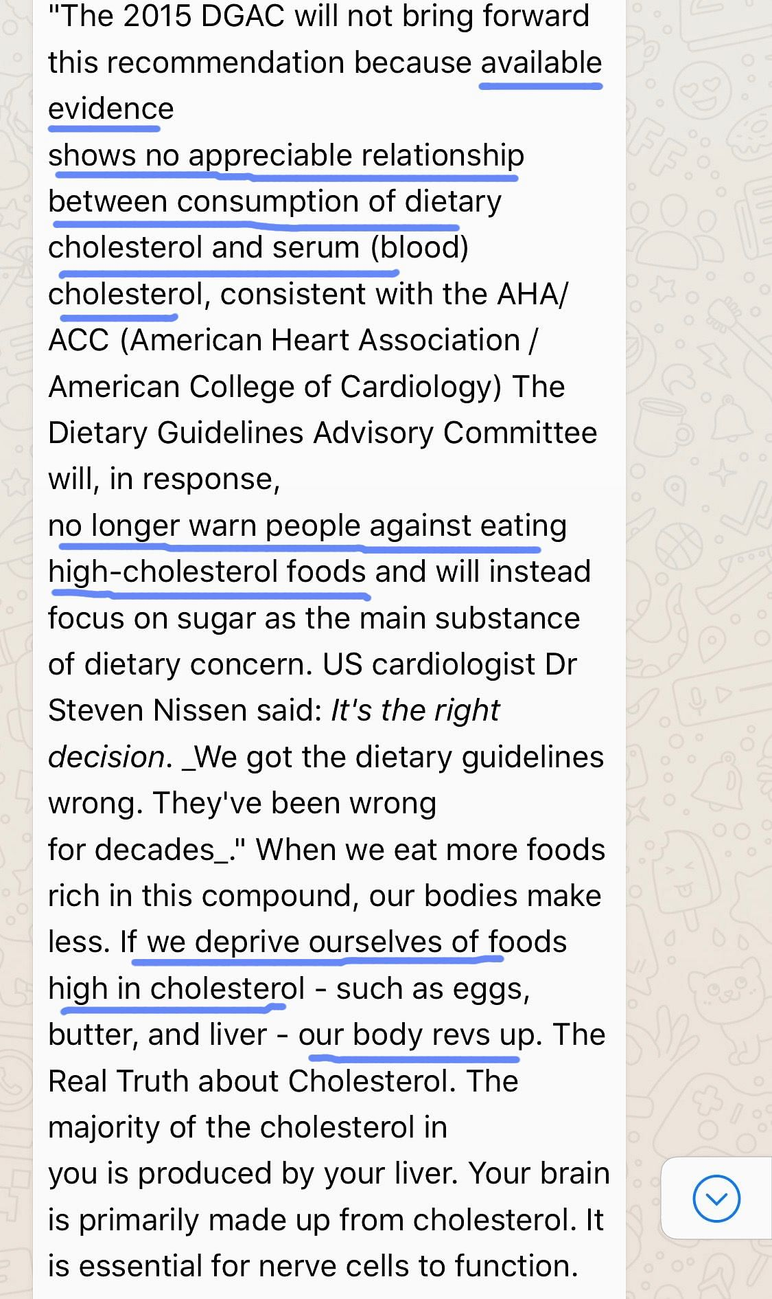 FIT WebQoof: Is Dietary Cholesterol Safe for the Heart?