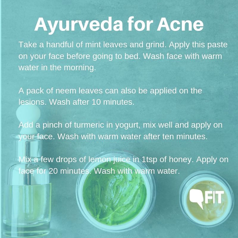 Ayurveda For Acne: Home Remedies for Getting Rid of the Scars