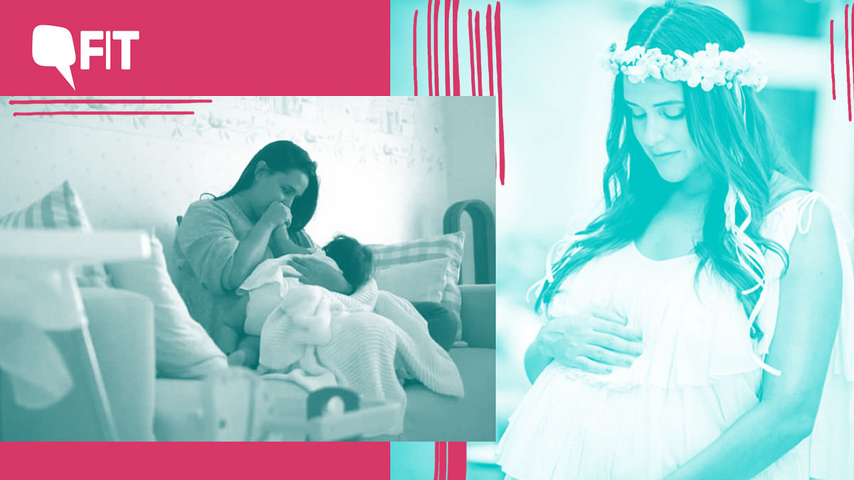 Neha Dhupia gets real about breastfeeding this World Breastfeeding Week.