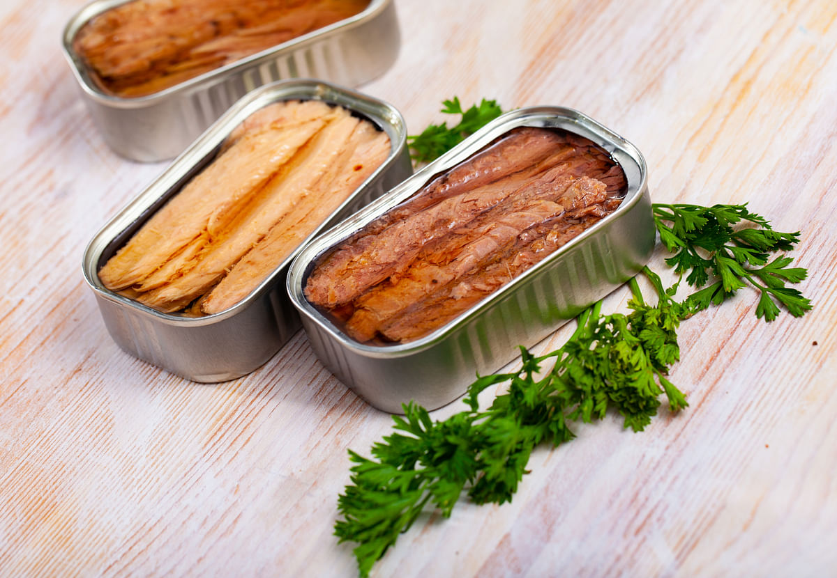 Tuna and sardines are great sources of choline