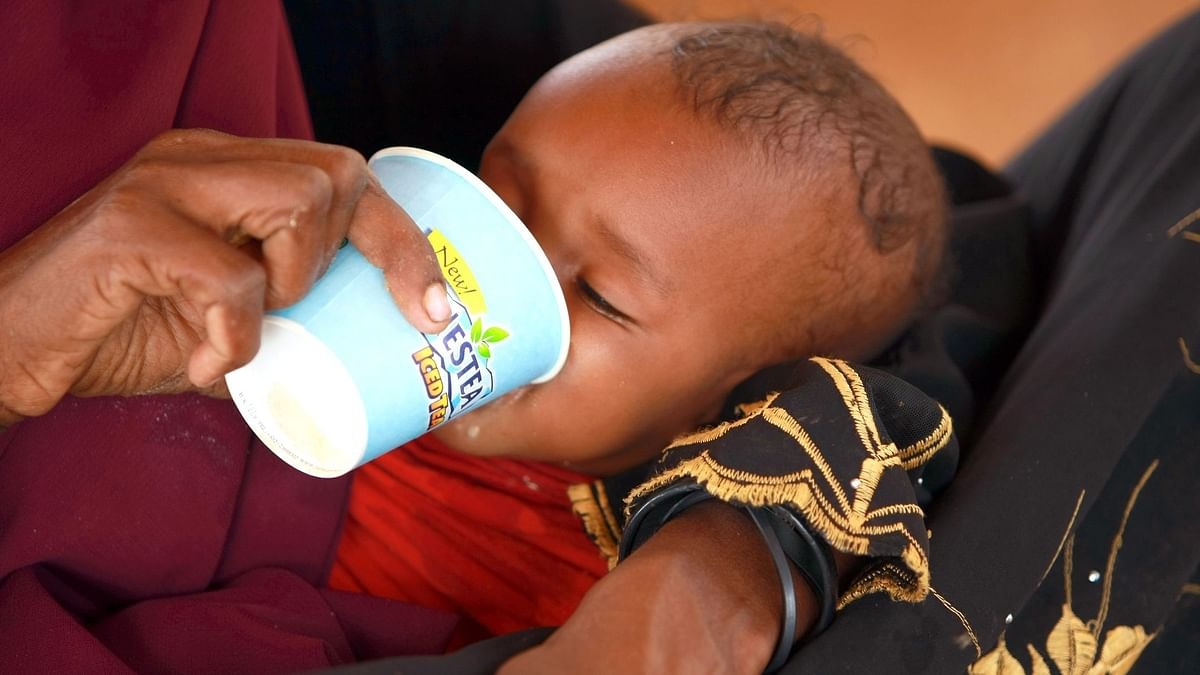 UNICEF report shows 1 in 3 Children around the world are malnourished