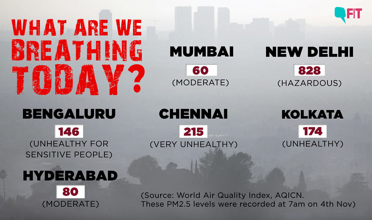 Air Emergency: Delhi Wakes Up to Air Smelling of Smoke, Hazy Skies