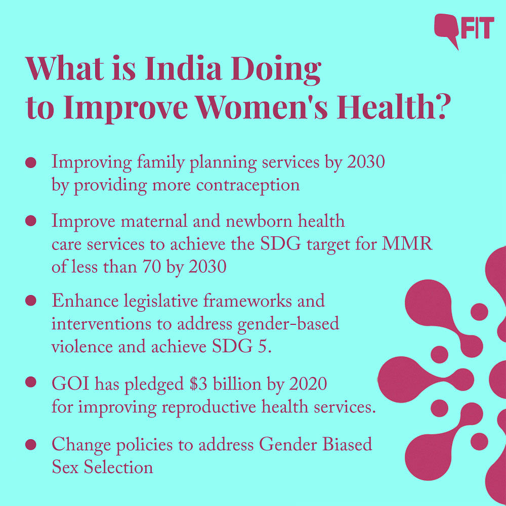 From increasing family planning services to the government of India pledging more money for improved reproductive healthcare, here's how India is going to achieve better healthcare for women.