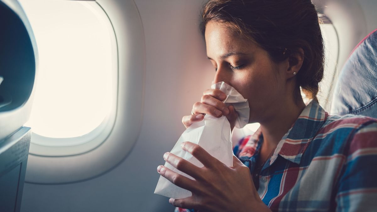 Planes are usually clean and disinfected, but it's always better to take precautions