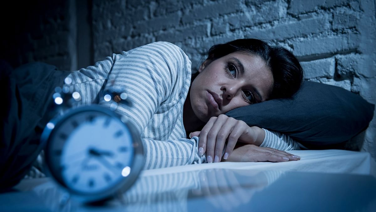 Insomnia can be caused by both psychological and physiological reasons.