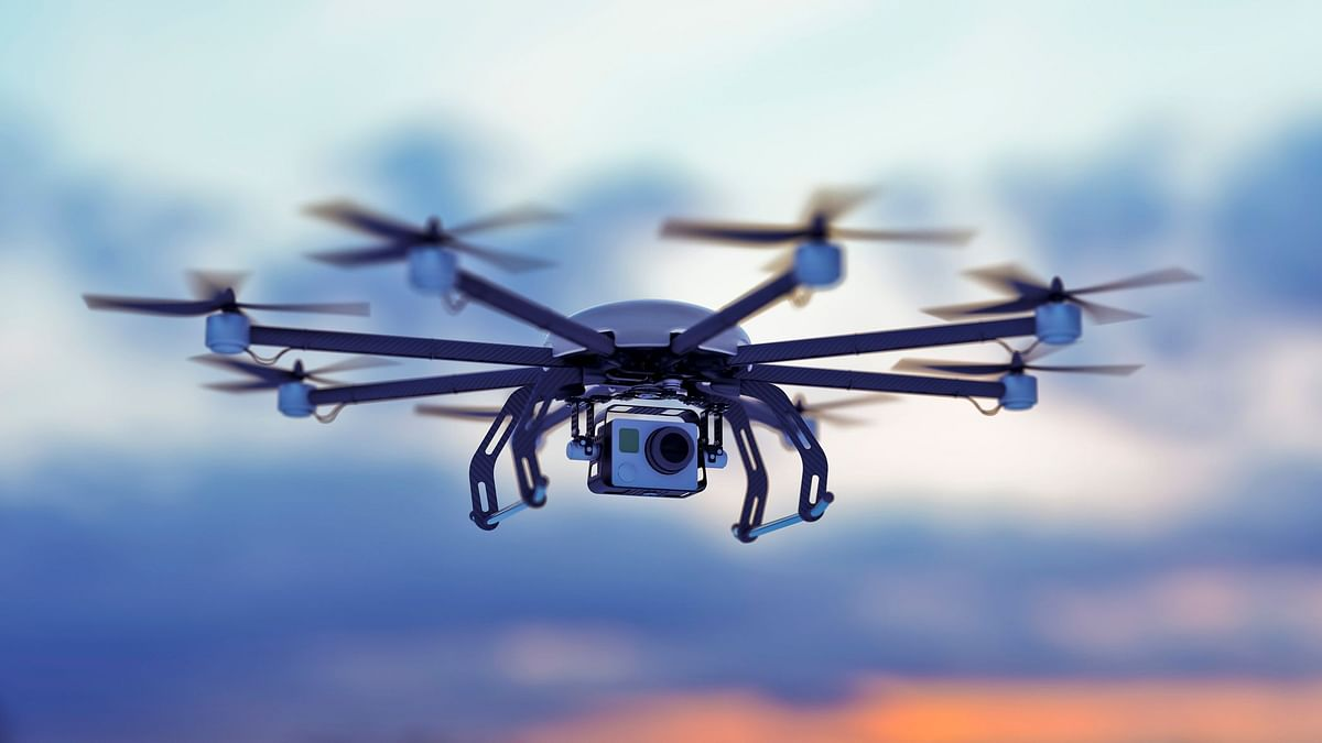 The drone will click images of buildings and other spots which are inaccessible to the officials.