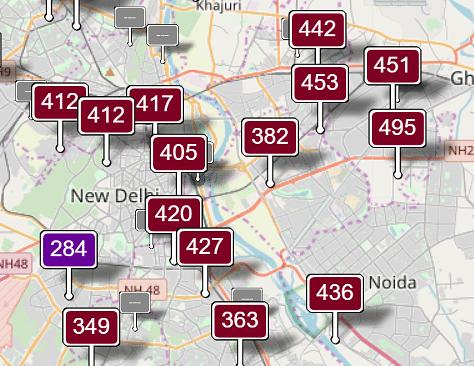 Air Quality Today: Delhi Air Remains Hazardous, SC Demands Action