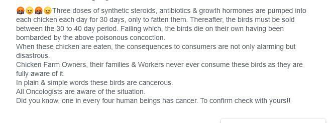 क्या चिकन में एंटीबायोटिक का इस्तेमाल, बढ़ा रहा है कैंसर का खतरा?