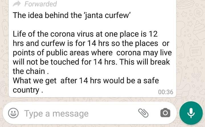FIT WebQoof: Will 14 Hr Janata Curfew Make India COVID-19 'Safe'?