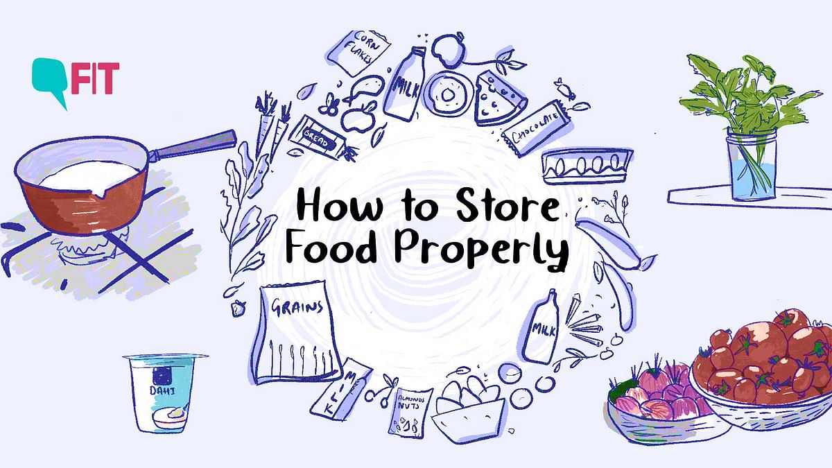 COVID-19 & Lockdown: How to Store Food Properly