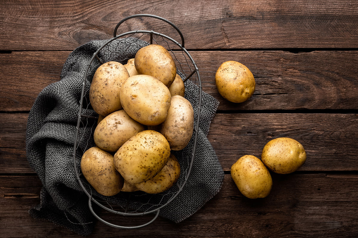 Potatoes are a rich source of nutrients like Vitamin C, Vitamin B6, Calcium, etc.