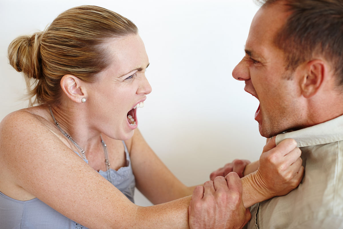 """Since the past week, things got so heated that I had to slap my husband."""