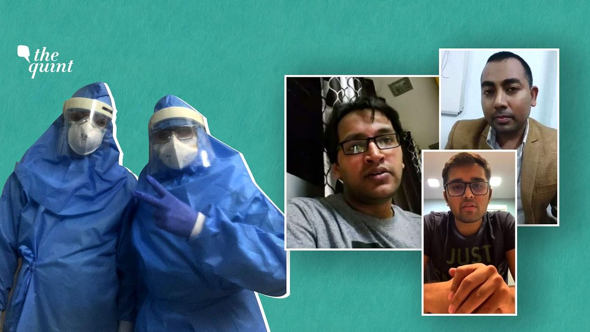 Mumbai doctors share their experience while working treating COVID-19 petients.