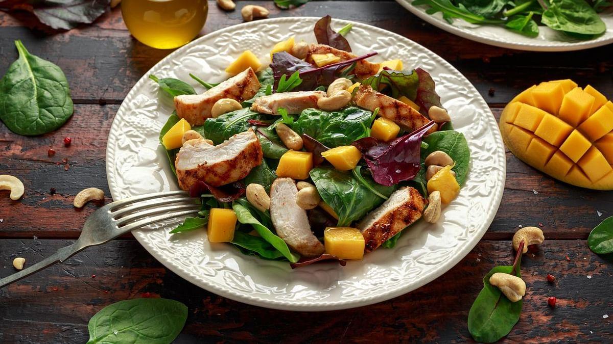 Crunchy Tangy Salad