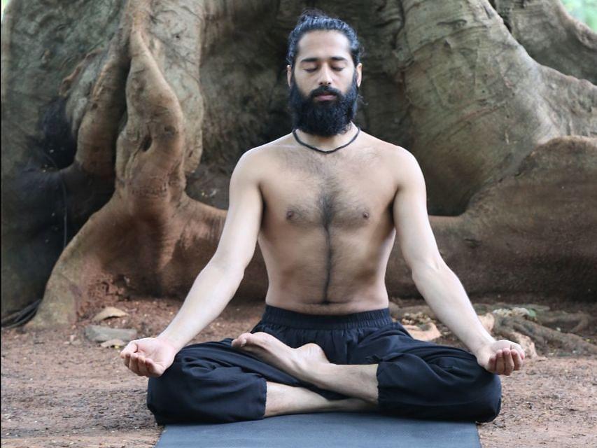 Ardha Padmasana