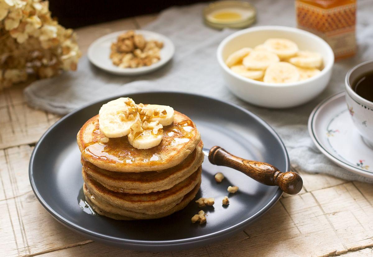 Banana pancakes.