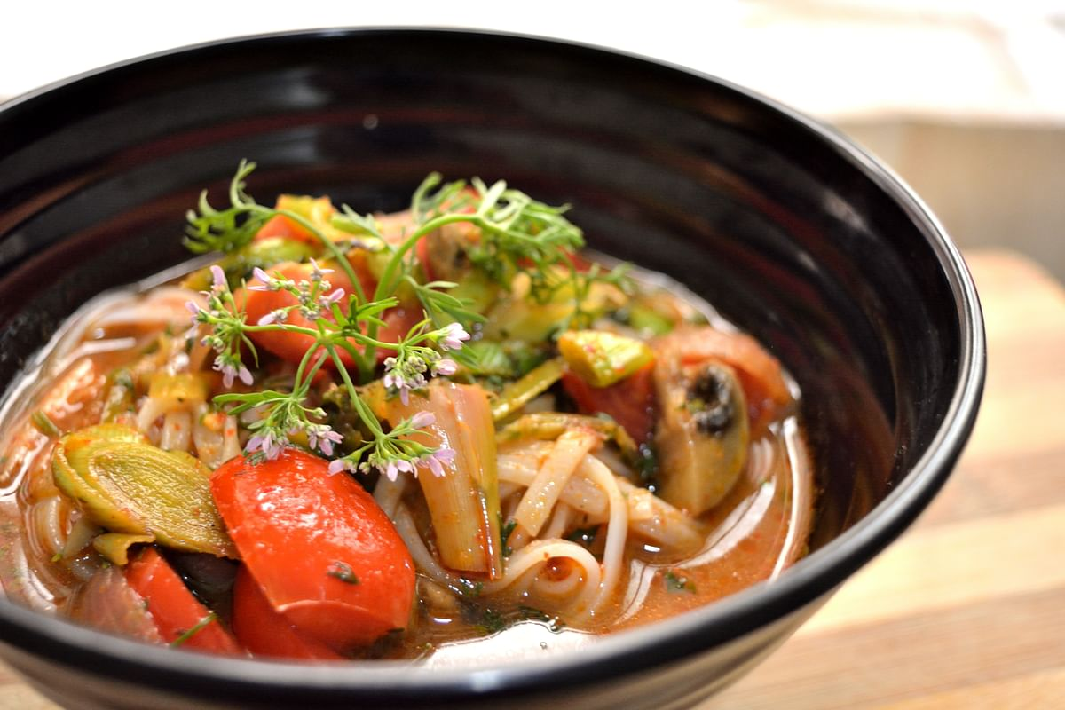 Spicy Fish With Mushroom.