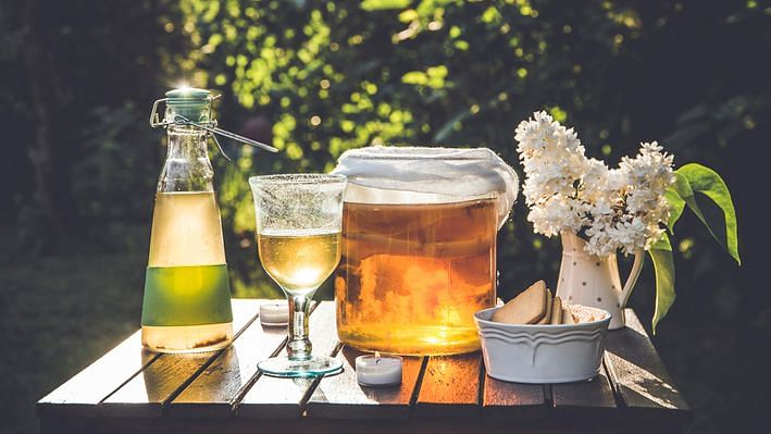 Unless you're a professional brewer, it's safer to buy Kombucha than make it at home.