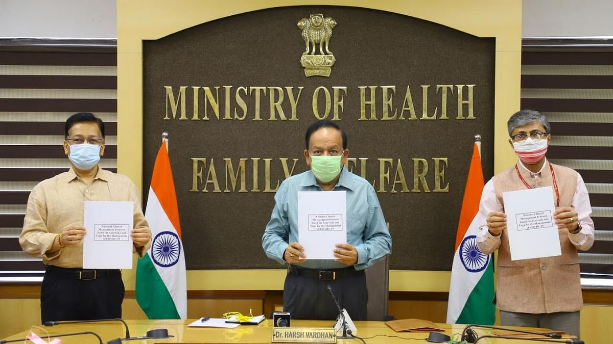 Centre Releases  Ayurveda-Based Protocol for COVID-19 Management
