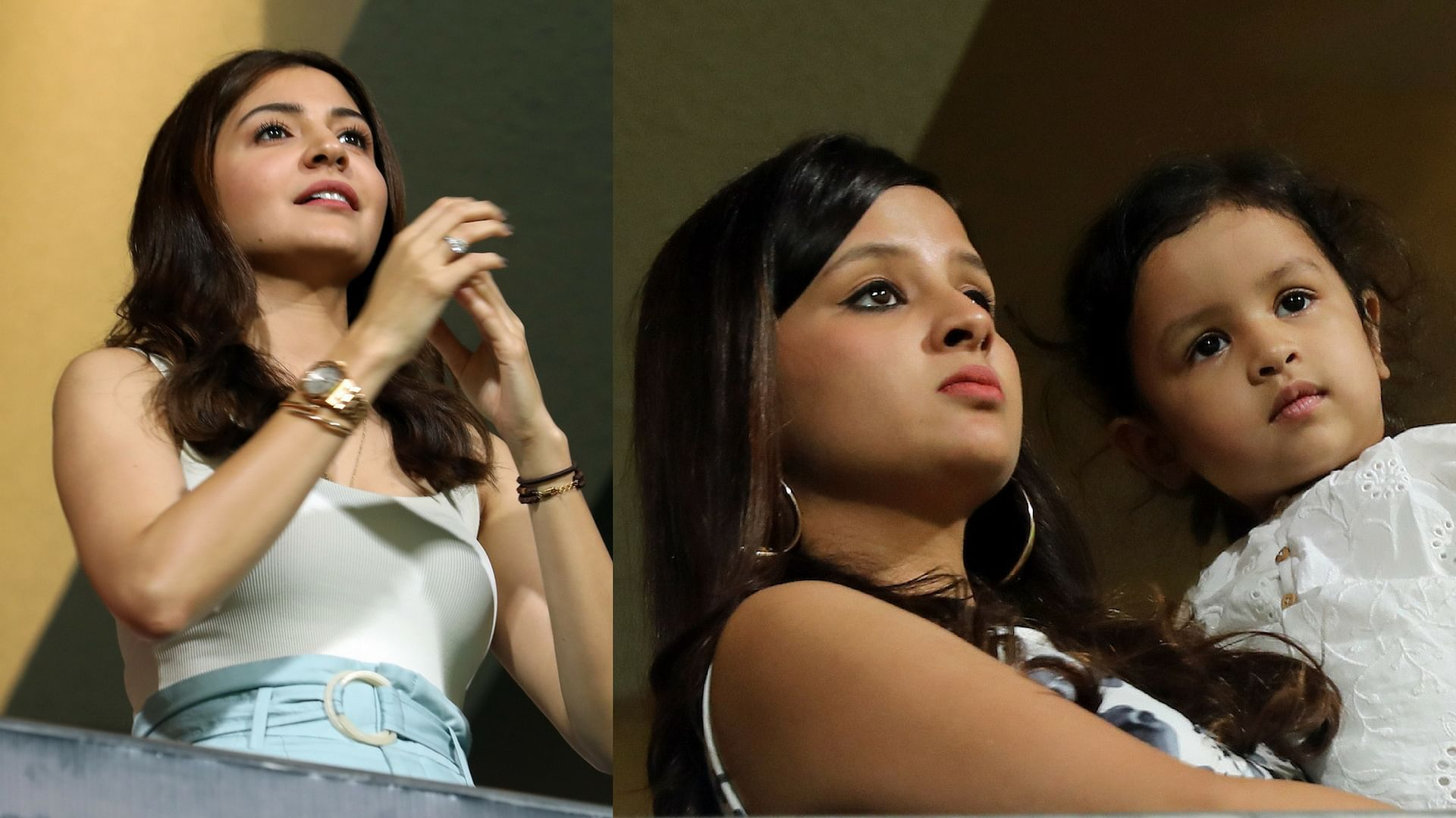 Anushka & Sakshi Looked All Tense as Virat Clashed With MS Dhoni ...