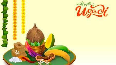 happy ugadi wishes images kannada telugu new year quotes