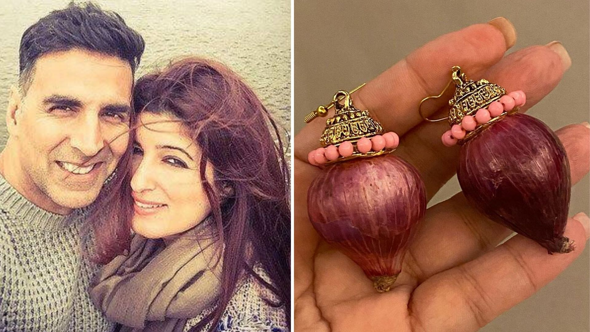 Here's How Twinkle Reacted When Akshay Gifted Her 'Onion' Earrings