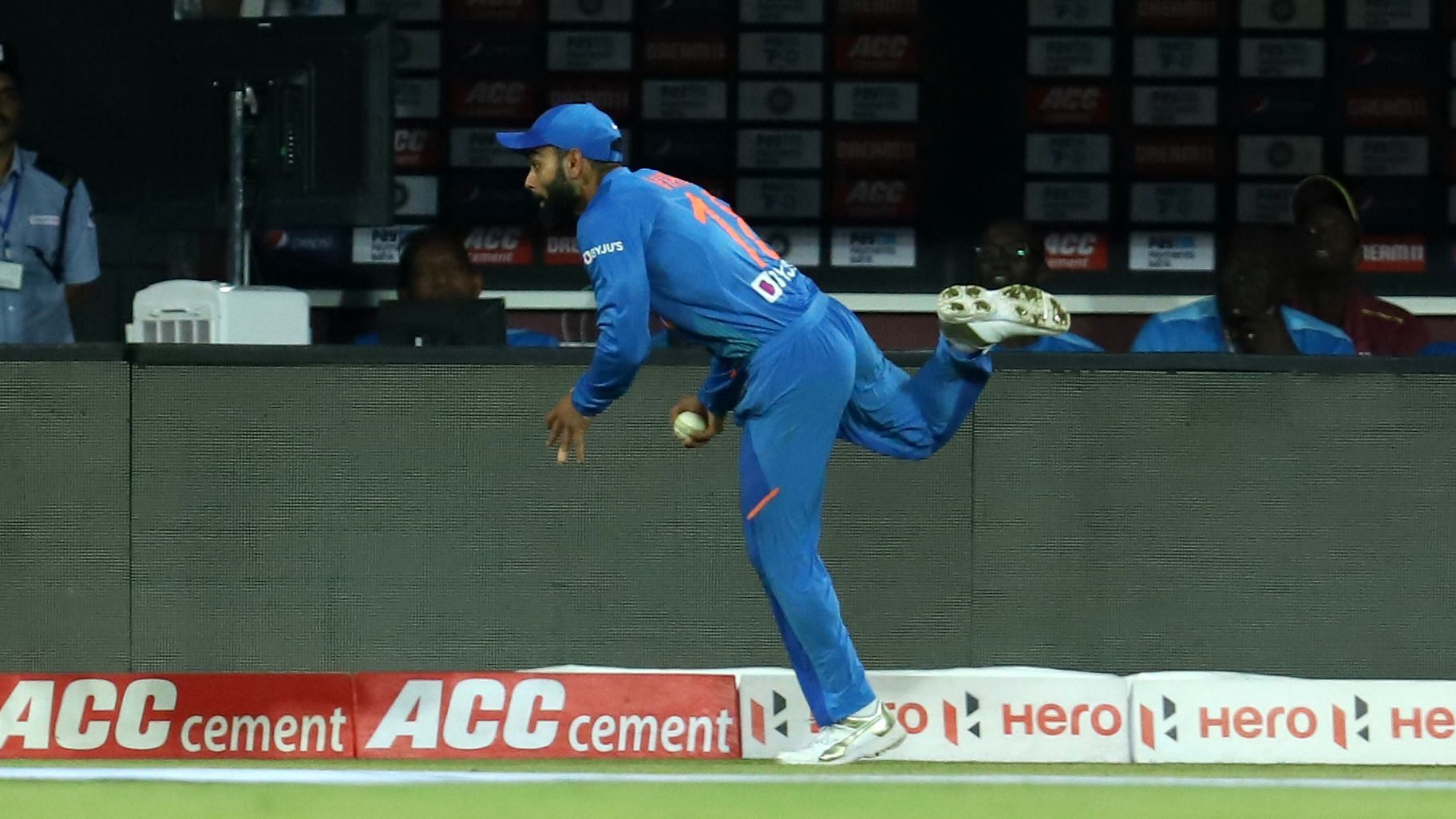 Watch: Kohli Stunner Lights up a Dismal Day for Indian Fielders