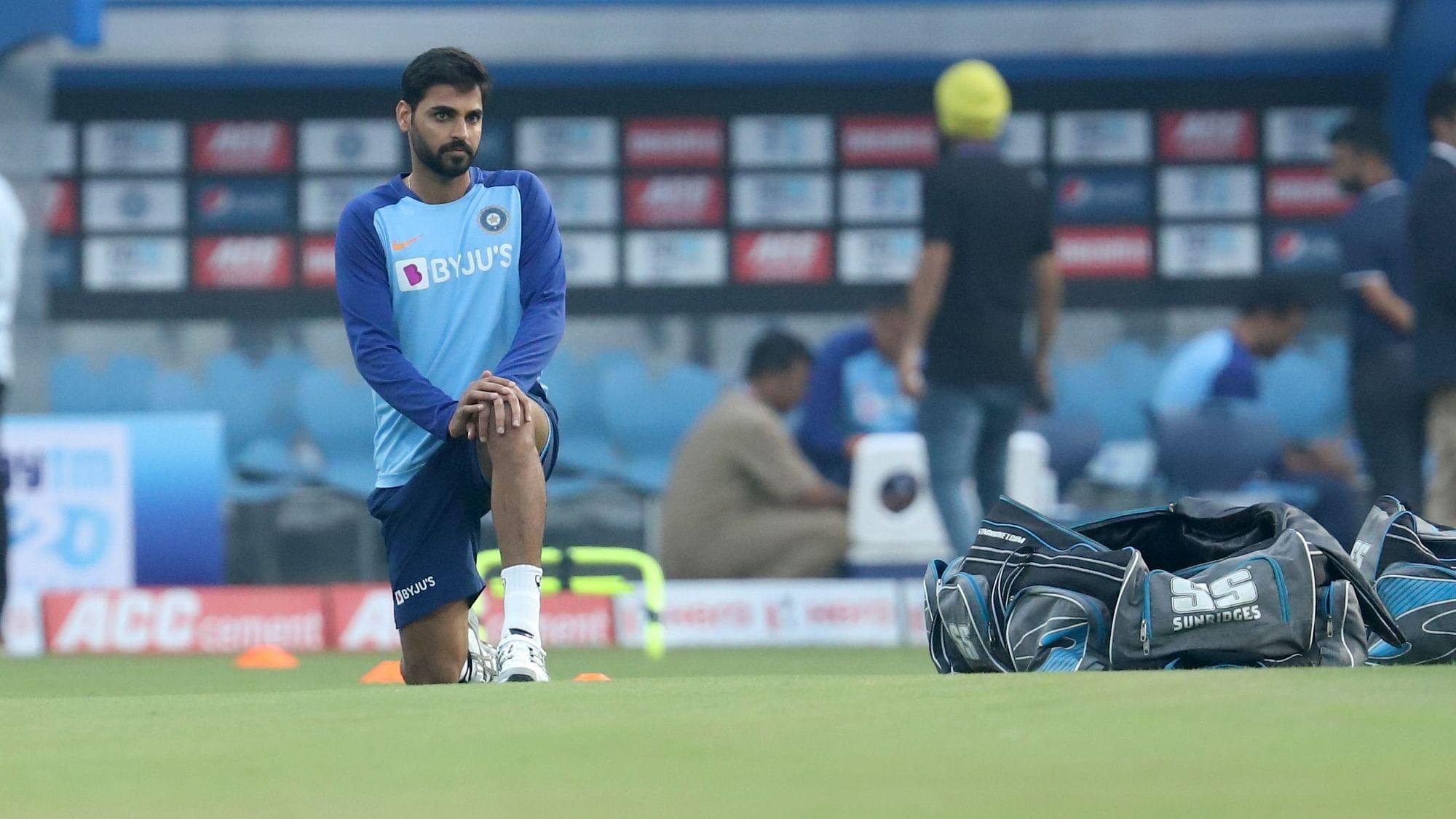 India vs West Indies ODI's: Injured Bhuvneshwar Kumar Ruled Out