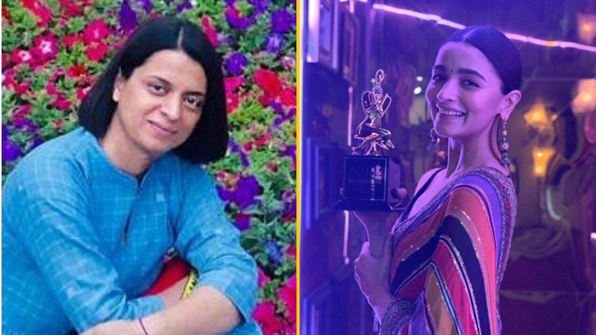 Did Alia Bhatt 'Fix' Her Award as Kangana's Sister is Alleging?