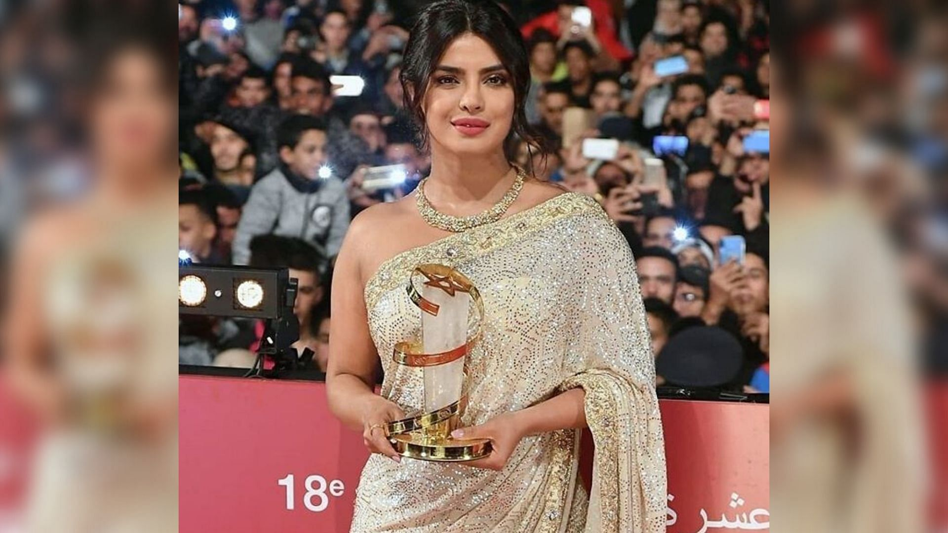 PC Honoured for Contribution to Cinema at Marrakech Film Fest