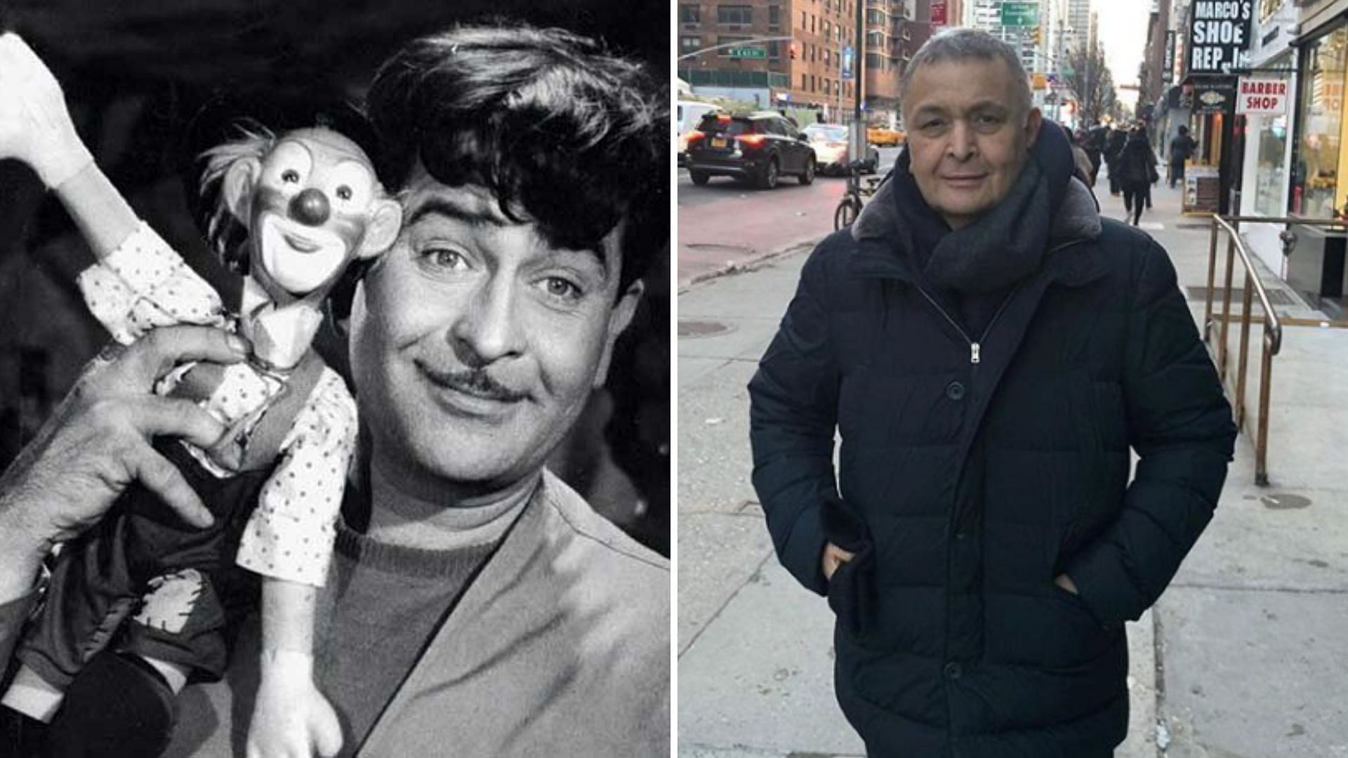Rishi Remembers Father Raj Kapoor on B'Day With Iconic Pic