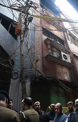 Delhi fire: Threats forced neighbours to keep mum