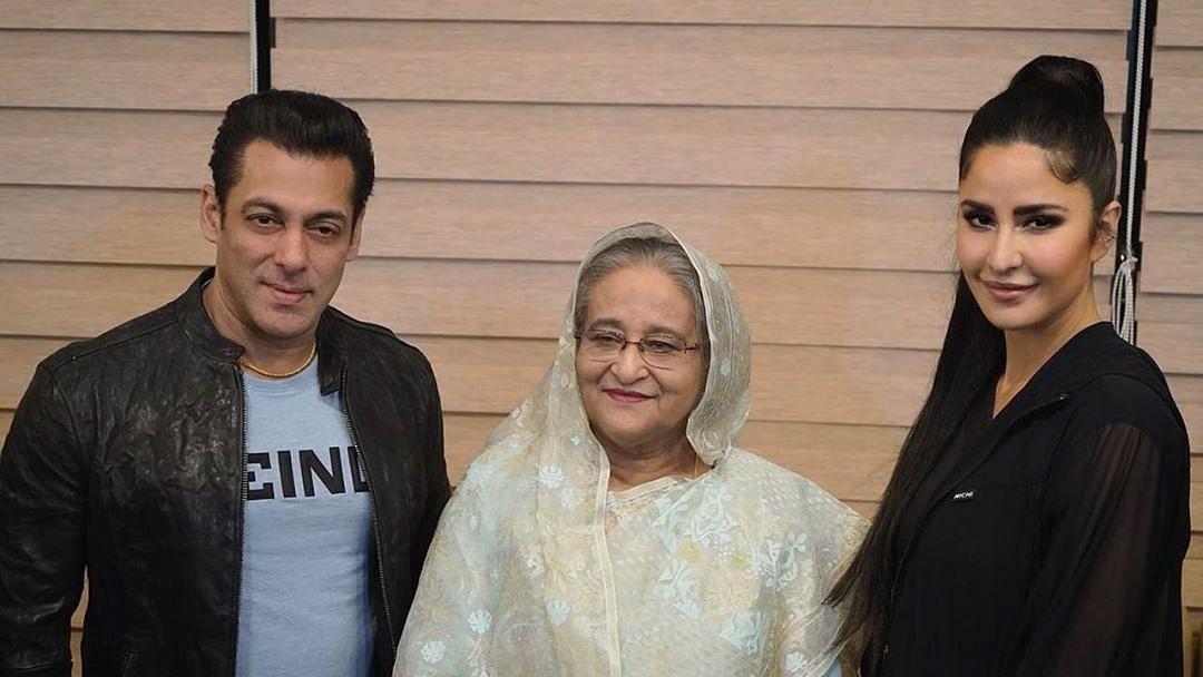 Salman & Katrina 'Honoured' to Meet PM Sheikh Hasina, Share Photo