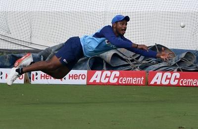 Thiruvananthapuram cheers for Samson ahead of 2nd T20I