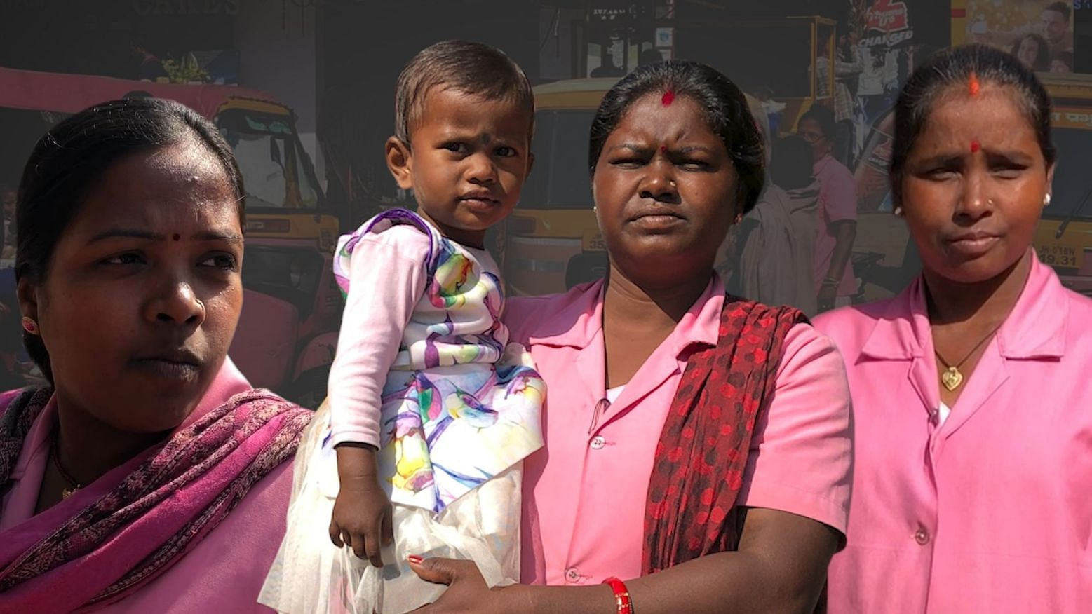3 'Pink Auto' Drivers of Ranchi – Their Dreams & Expectations