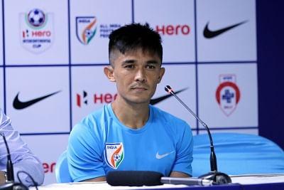 Would love to play against East Bengal, Mohun Bagan: Chhetri