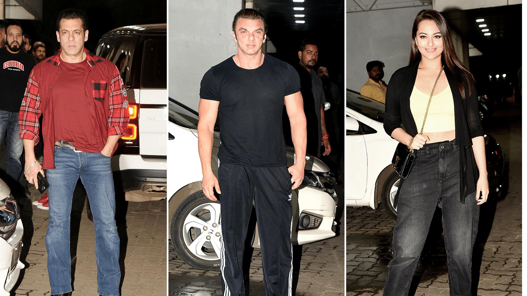 Salman, Sonakshi, Jackie Shroff Bring in Sohail Khan's Birthday