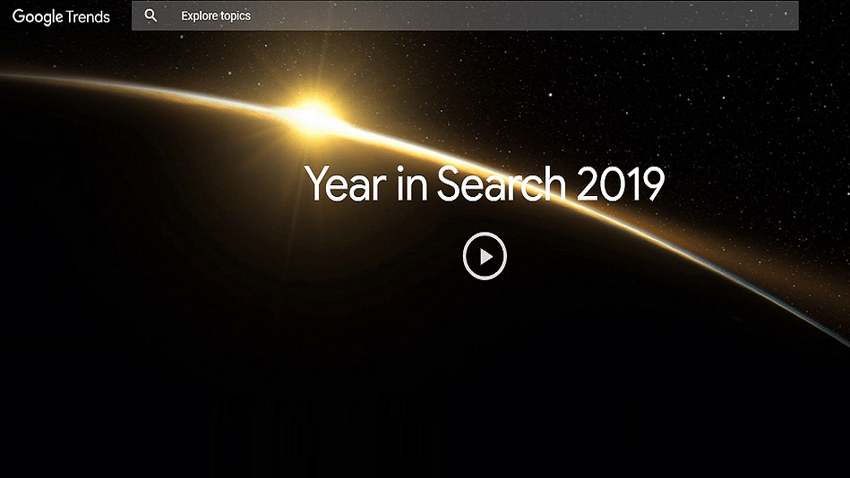 Google Year in Search 2019: List of Top Searched Keywords in India
