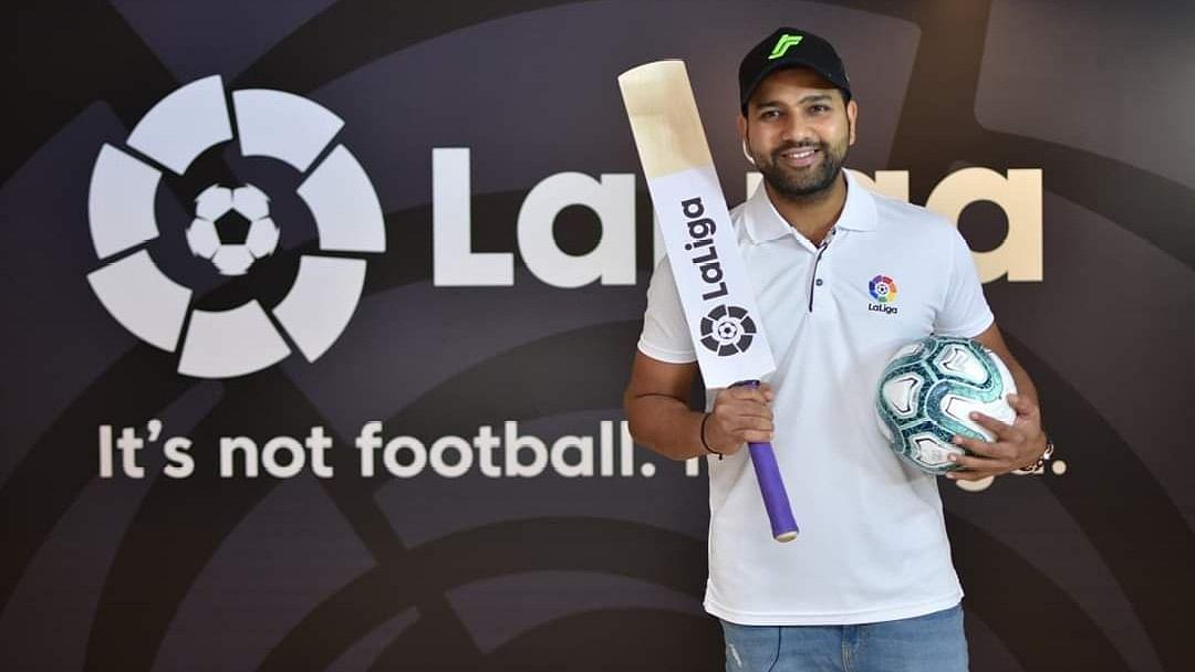 Rohit Sharma Named La Liga's First India Brand Ambassador