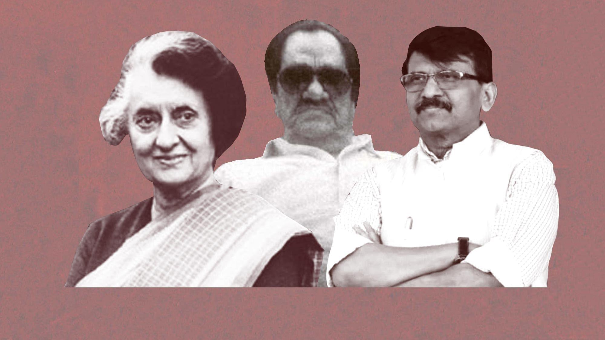 Sanjay Raut Saying Indira Gandhi Met Don Karim Lala Sparks Row