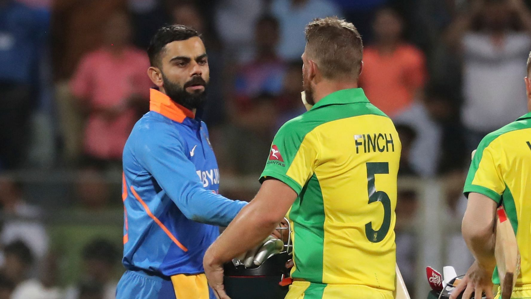 ODI Series on the Line as Virat & Finch Face-Off at Their IPL Home