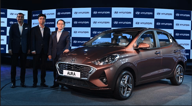 Hyundai Aura Compact Sedan Launched, Prices Start at Rs 5.8 Lakh