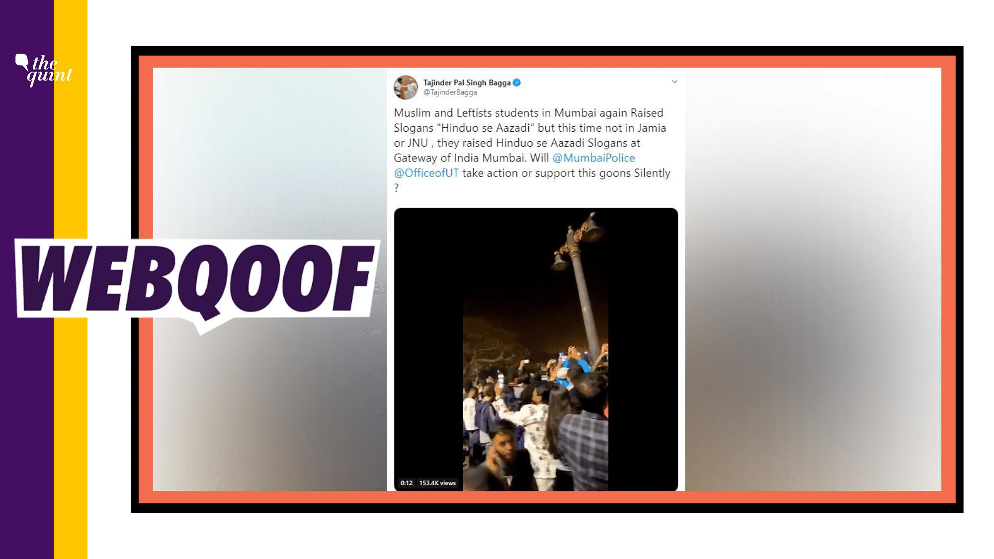 Did Umar Khalid Chant 'Hinduon Se Azadi'? BJP Makes False Claim