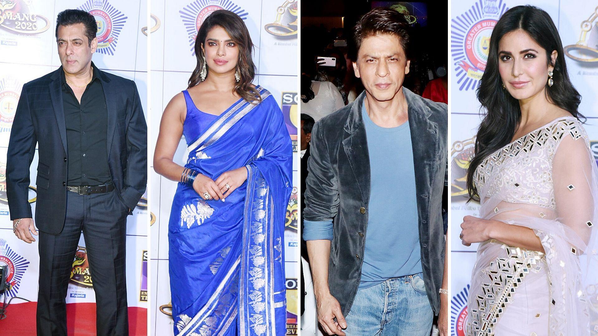 Pics: SRK, Salman, Priyanka, Varun Attend Umang 2020 Event