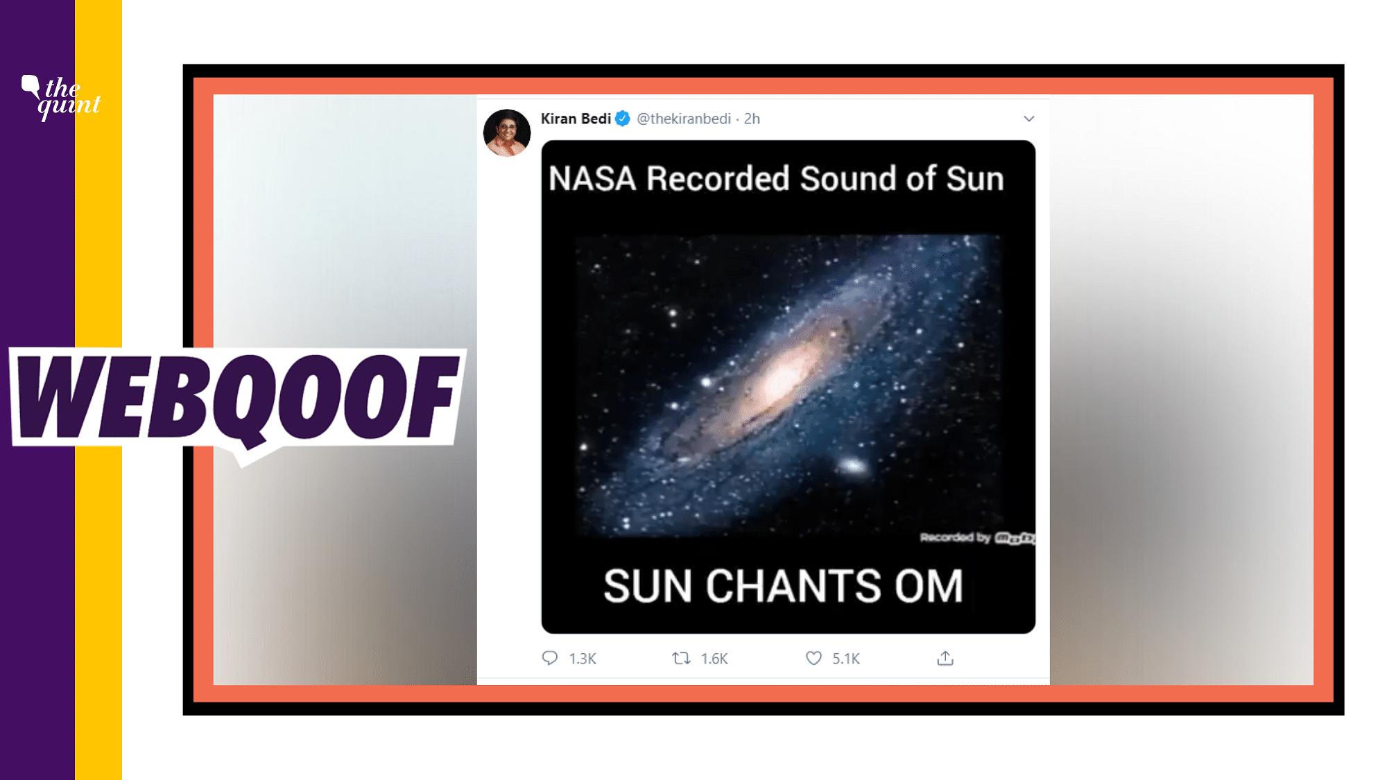 'Still Worth Listening To': Kiran Bedi On Sharing False NASA Video