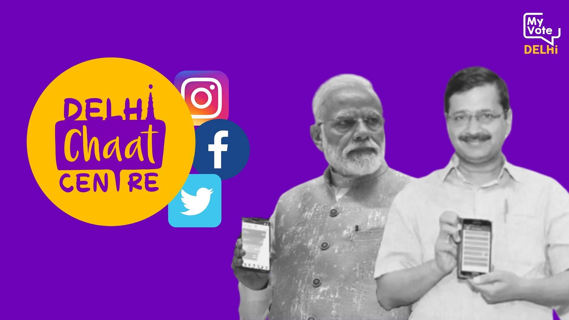 Delhi Chaat Centre | Which Party Spent Most on Social Media Ads?