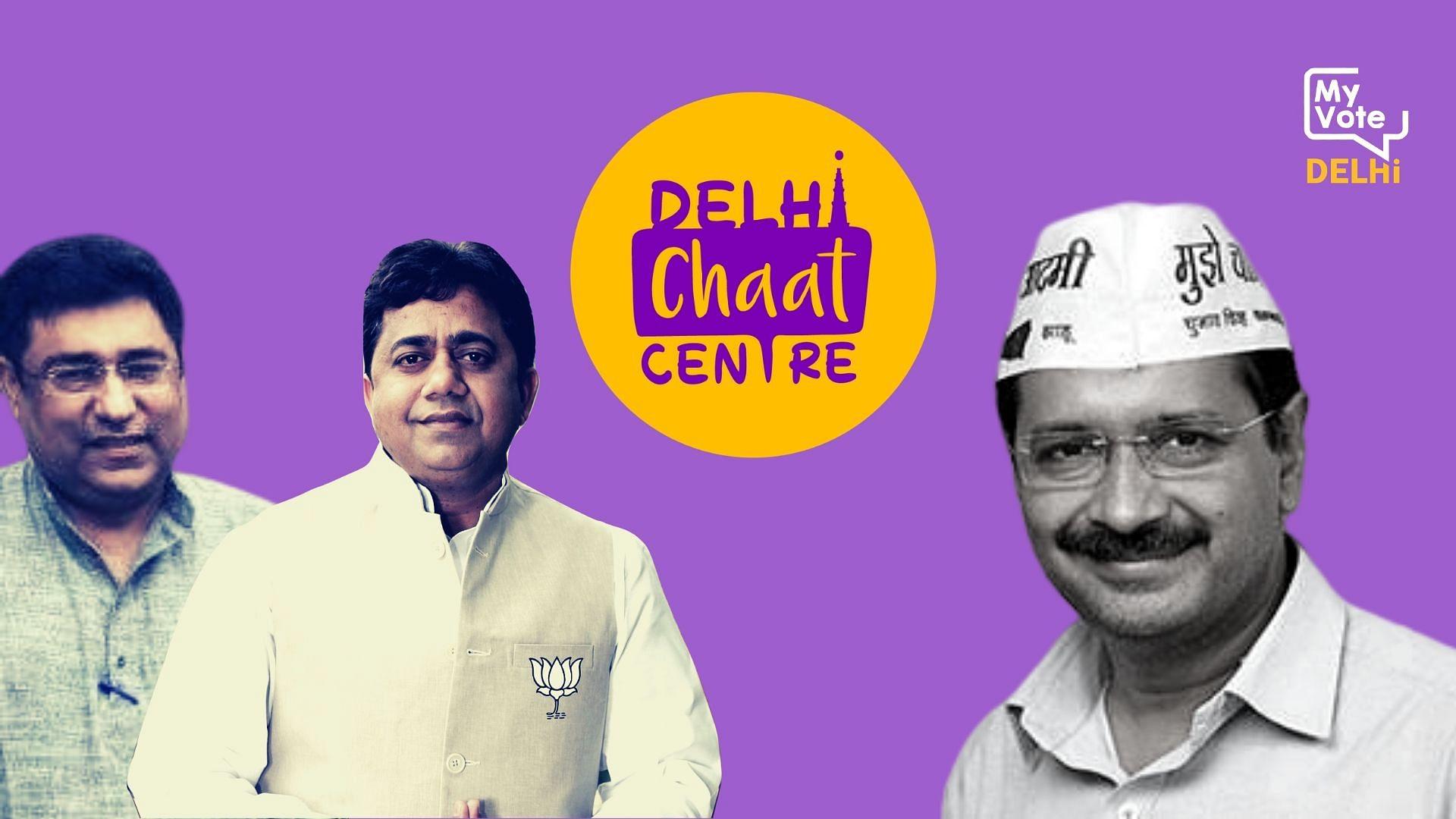 Delhi Chaat Centre | Kejriwal vs 'Lightweights' in New Delhi?