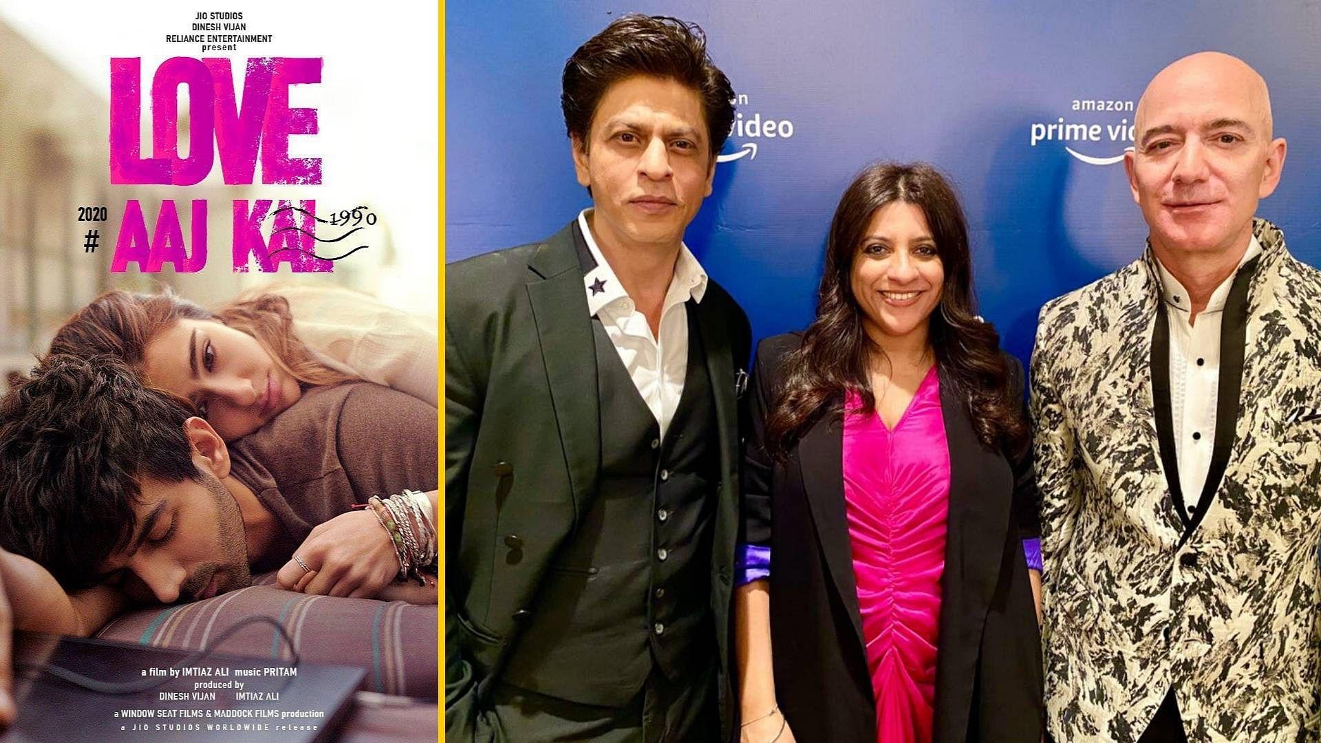 QuickE: 'Love Aaj Kal' Trailer; SRK Meets Jeff Bezos