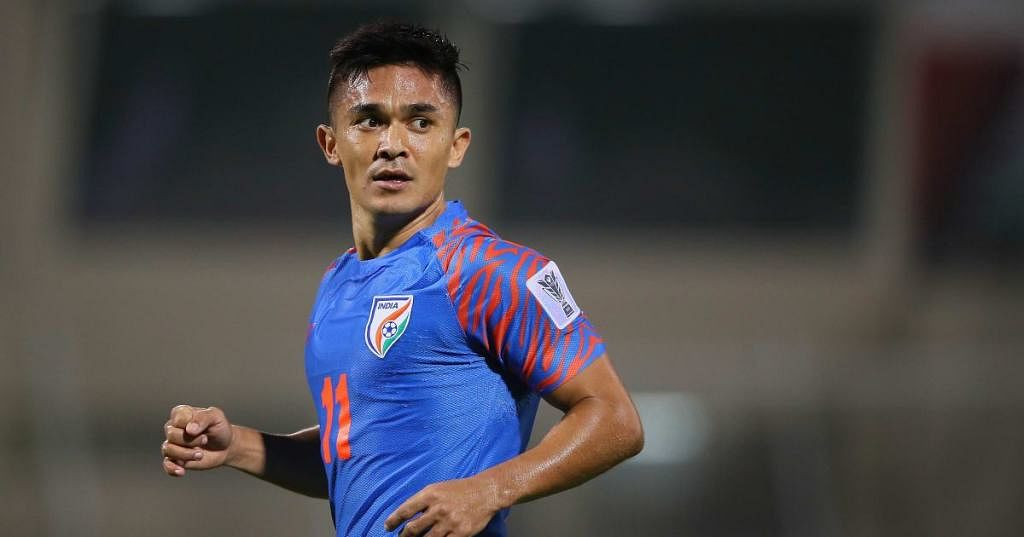 Sunil Chhetri Says He's yet to Decide When to Hang up His Boots