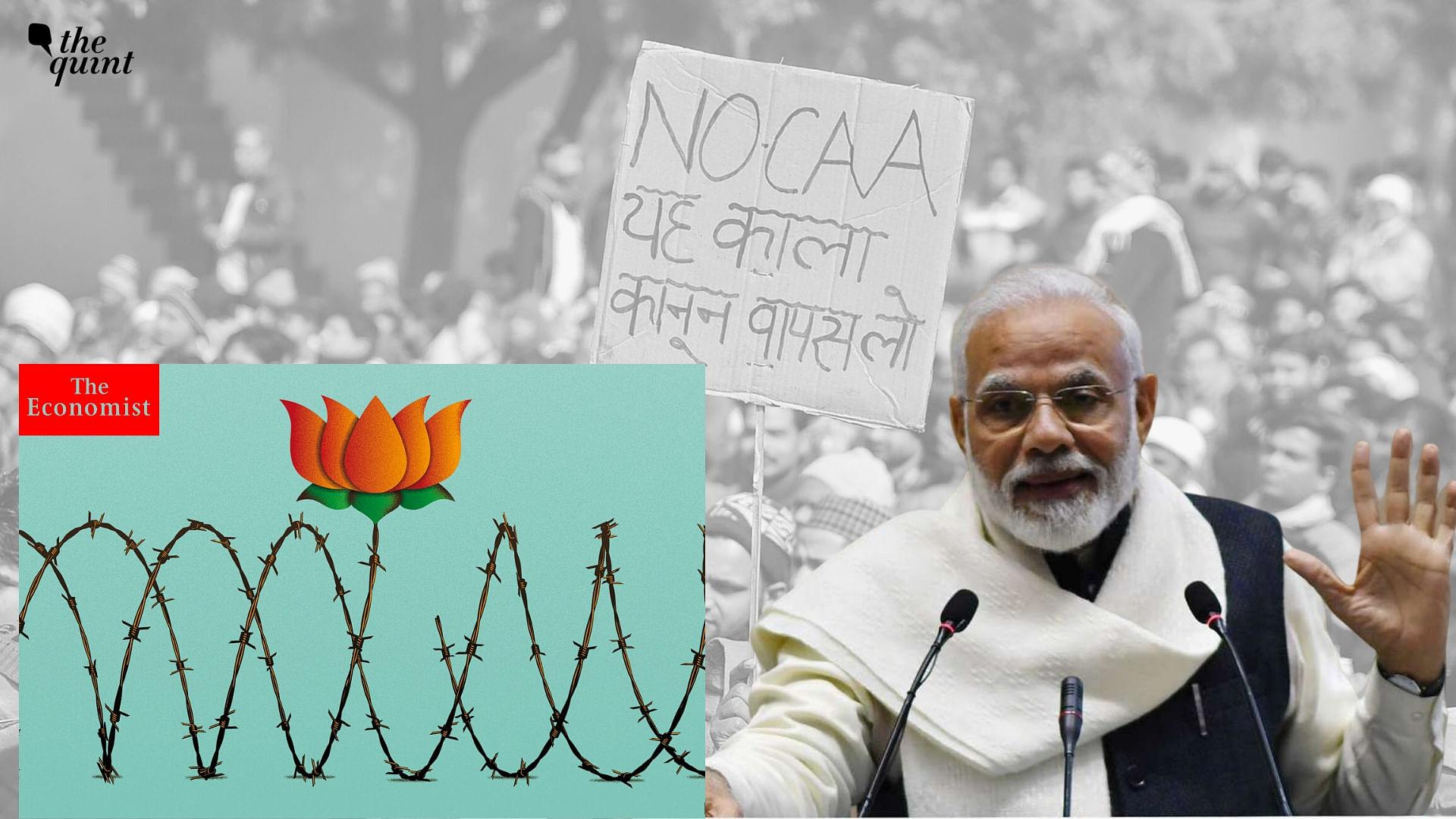 'BJP's Poll Tactics a Political Poison': The Economist on CAA, NRC
